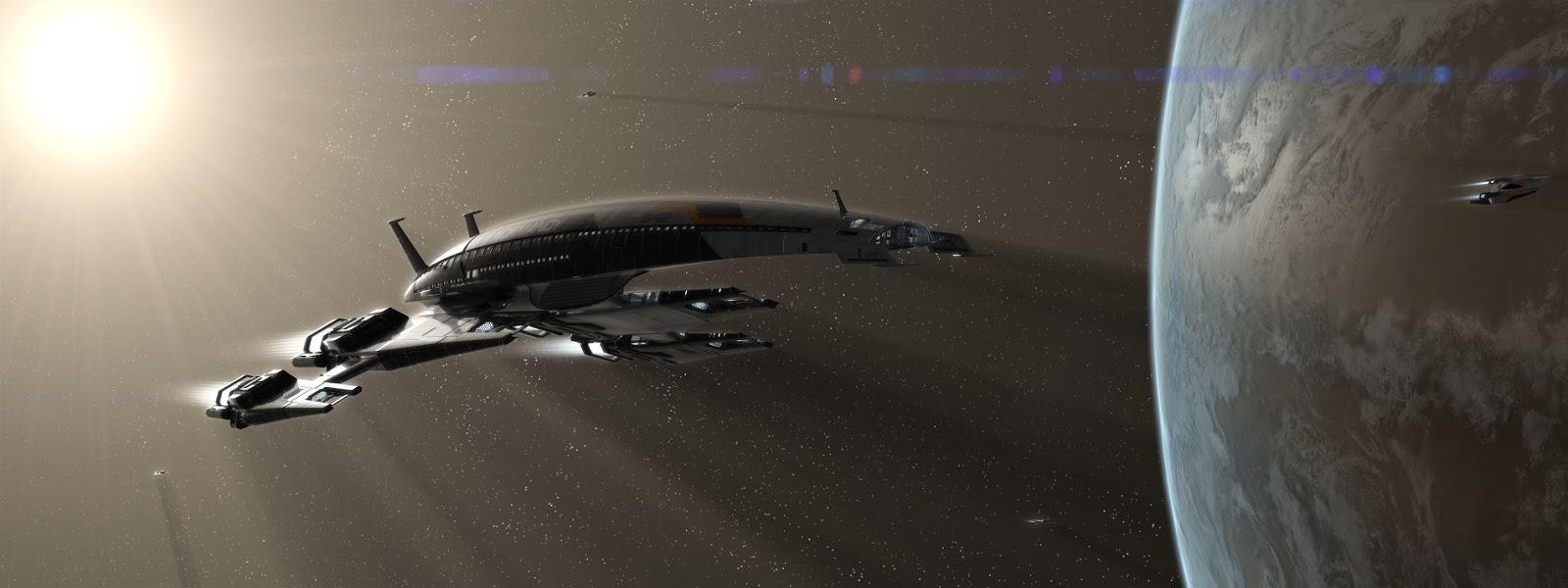 Ssv Normandy Sr 2 18 Ship Replica: Welcome To Dark Corner CGI: SSV Normandy SR2