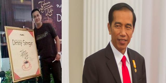Surat Terbuka Denny Siregar Untuk Jokowi , Isinya Bikin Jokowi Semakin Tak Gentar
