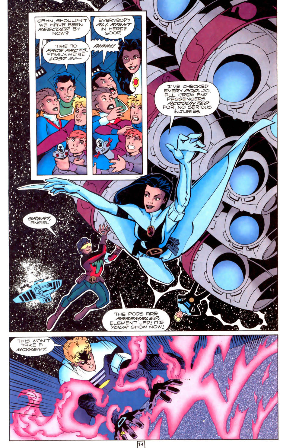 Legion of Super-Heroes (1989) 104 Page 14