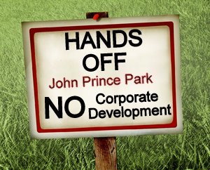 hands off our park