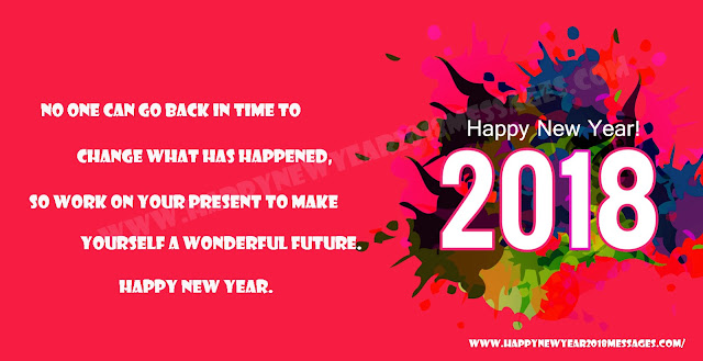 Happy New Year 2018 Messages Pictures