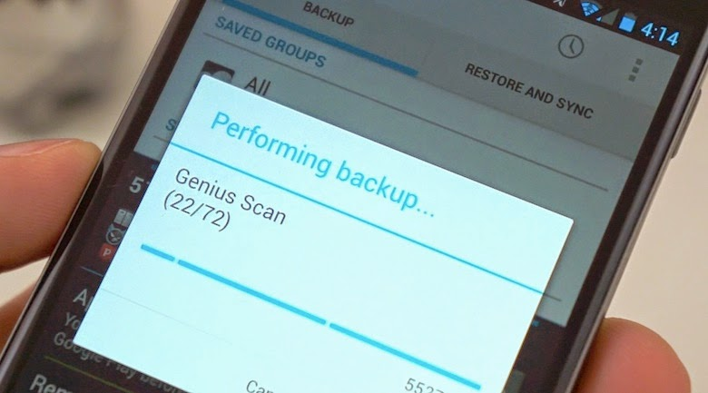 App per Effettuare Backup Android
