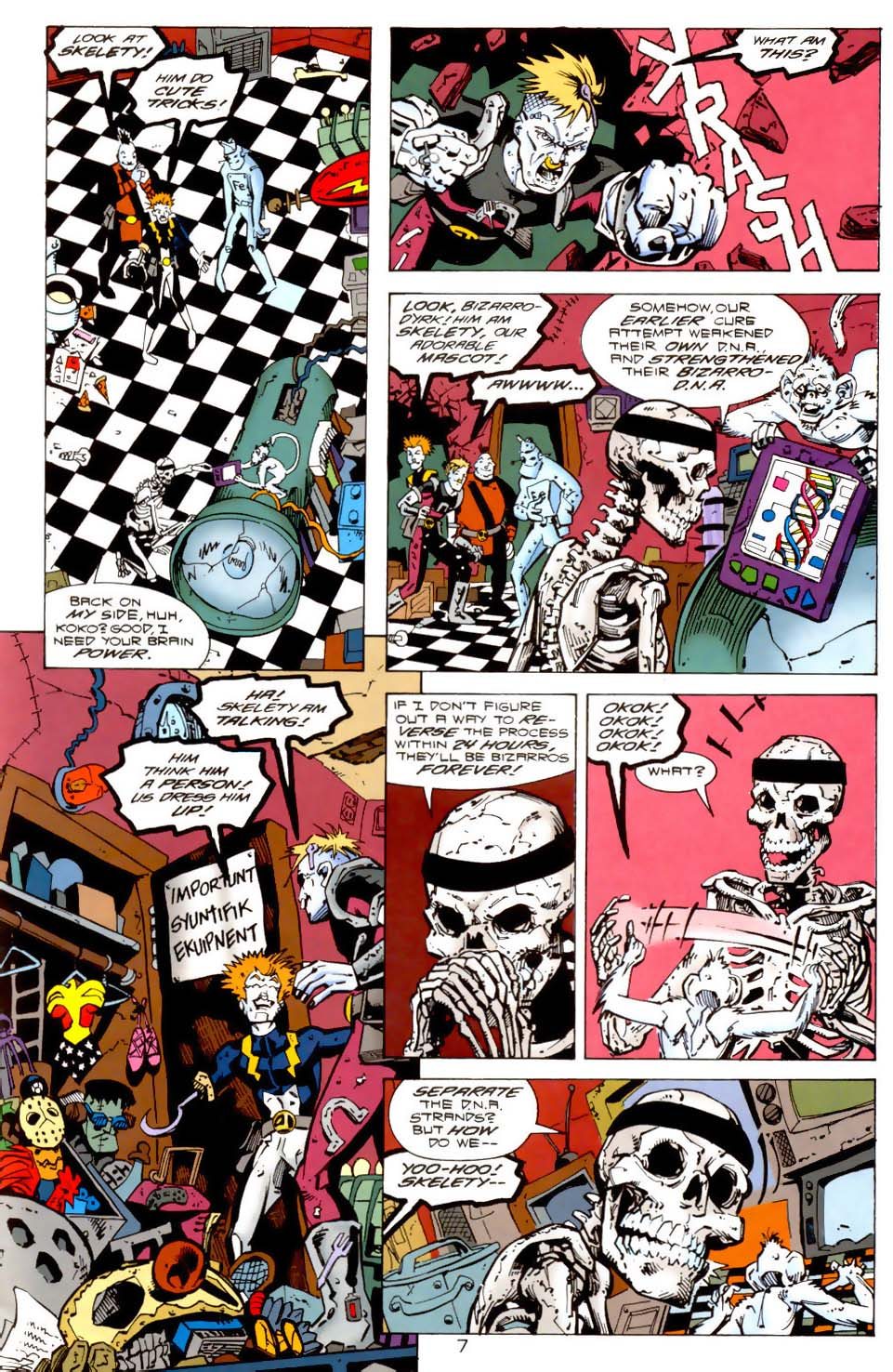 Legion of Super-Heroes (1989) 115 Page 7
