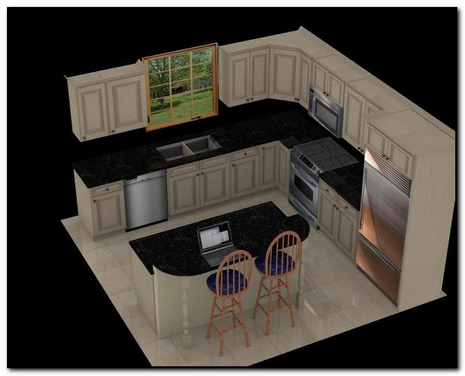 12x12 Kitchen Layout Design Home Kitchen
