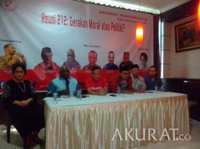 Ini Dasar Reuni Akbar Mujahid 212 Disebut Gerakan Oposisi Politik
