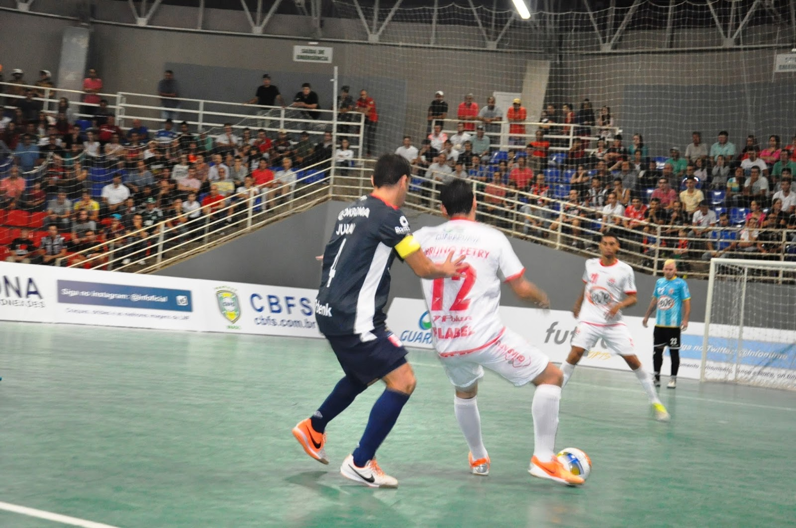 6a03b61941 Poker Óleo Leve Guarapuava Futsal recebe a Krona Futsal pela Liga Nacional