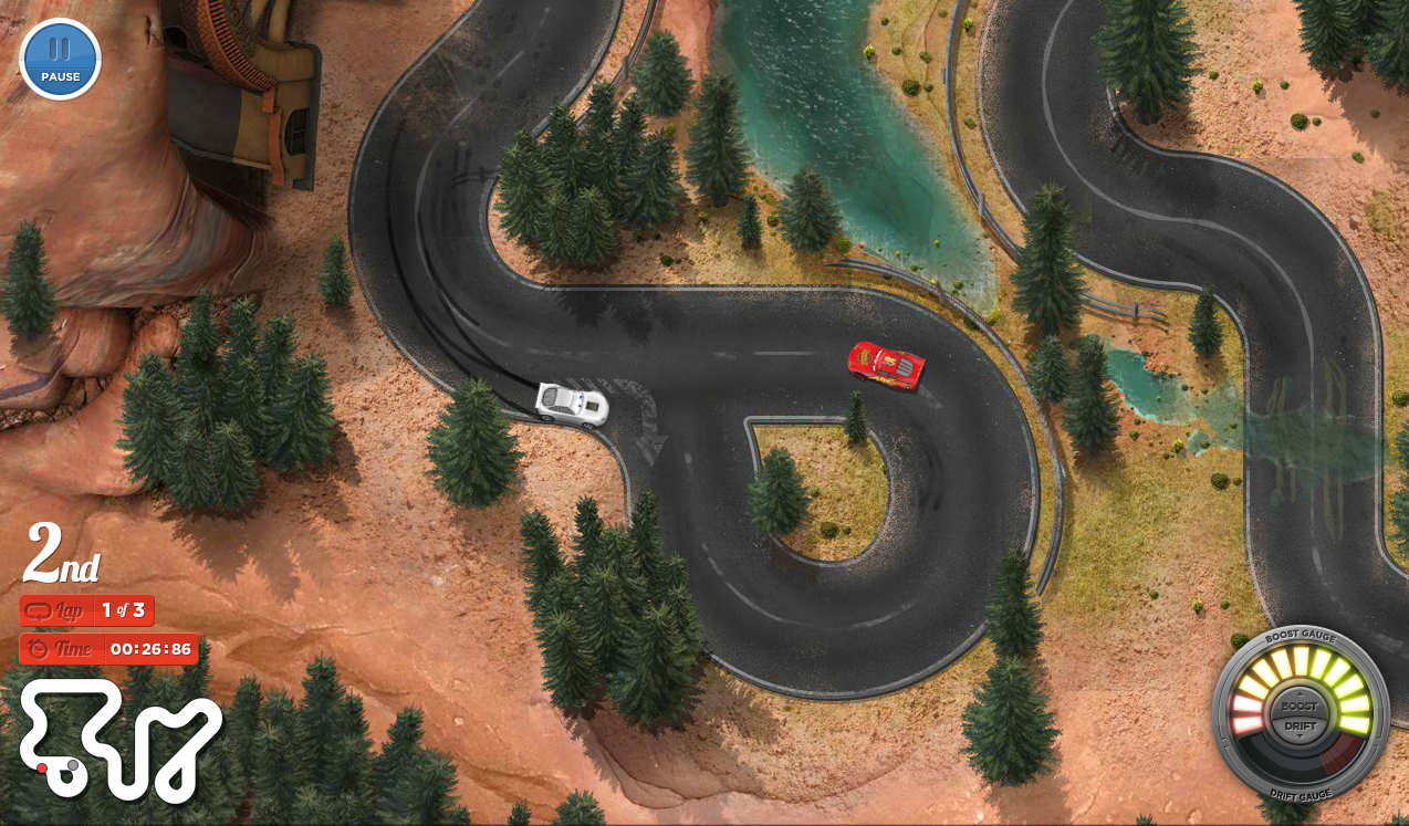 Need a quick break? Play the online Cars Land Racers game ...