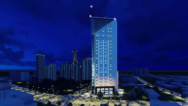 Phối cảnh chung cư tháp doanh nhân Boss Tower