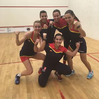 SQUASH - España finaliza 13ª en el Mundial femenino por equipos, el mejor resultado de siempre