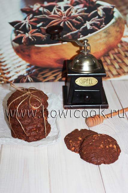 рецепт вкусного шоколадного печенья от джейми оливера