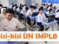 Kisi-kisi Ujian Nasional SMPLB 2018/2019  Resmi BSNP lengkap Semua Mata Pelajaran