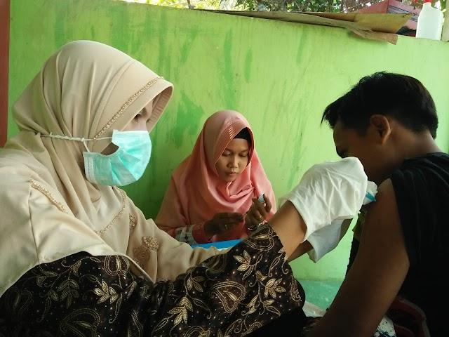 KKN Kelompok 102 UTM Peduli Difteri