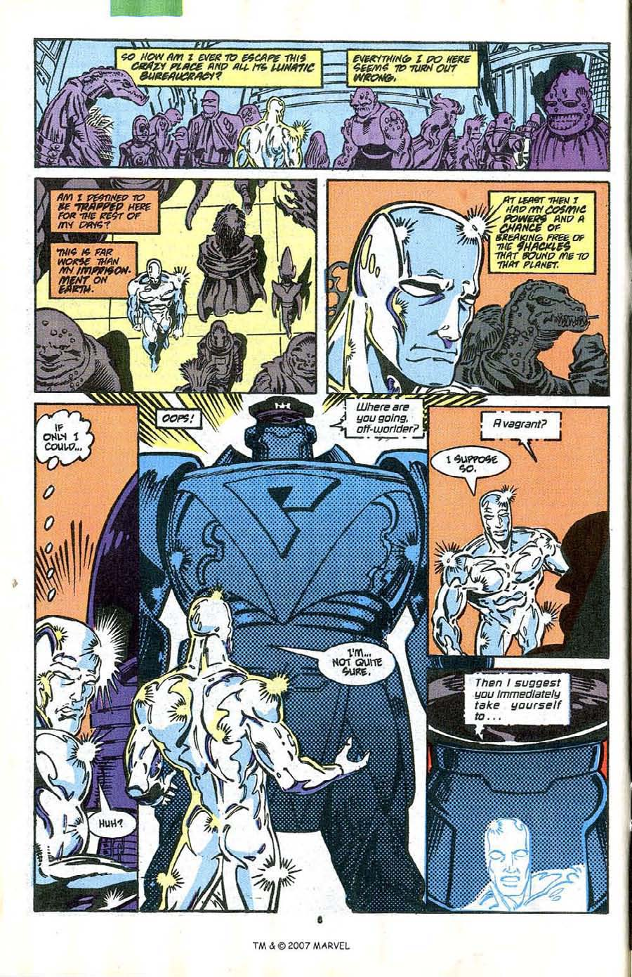 Read online Silver Surfer (1987) comic -  Issue #41 - 8