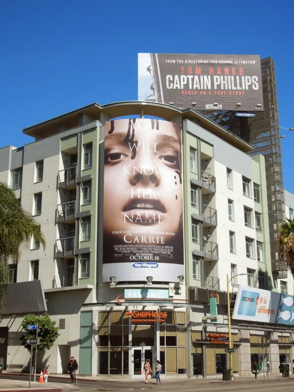 Carrie remake movie billboard