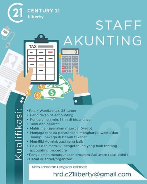 Lowongan Kerja Staff Akunting Bandung