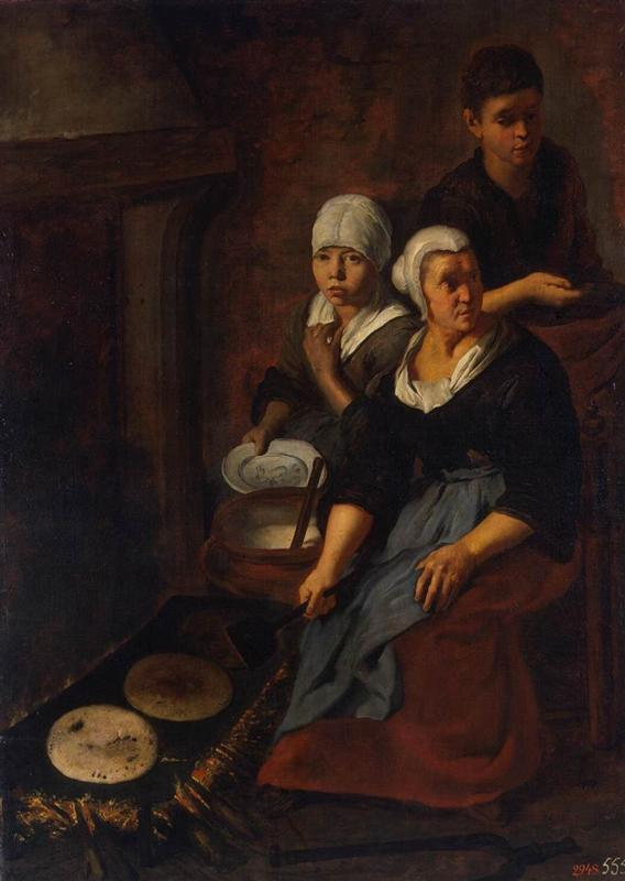 Bartolomé Esteban Murillo Приготовление лепёшек
