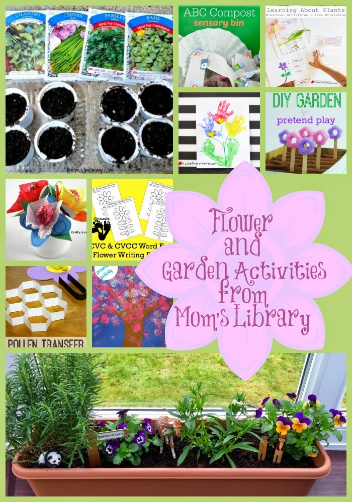 Flower and Gardening Activities on Mom's Library