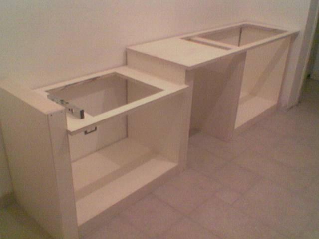 Fai da te hobby legno cucina in finta muratura for Mobili per cucine in muratura fai da te