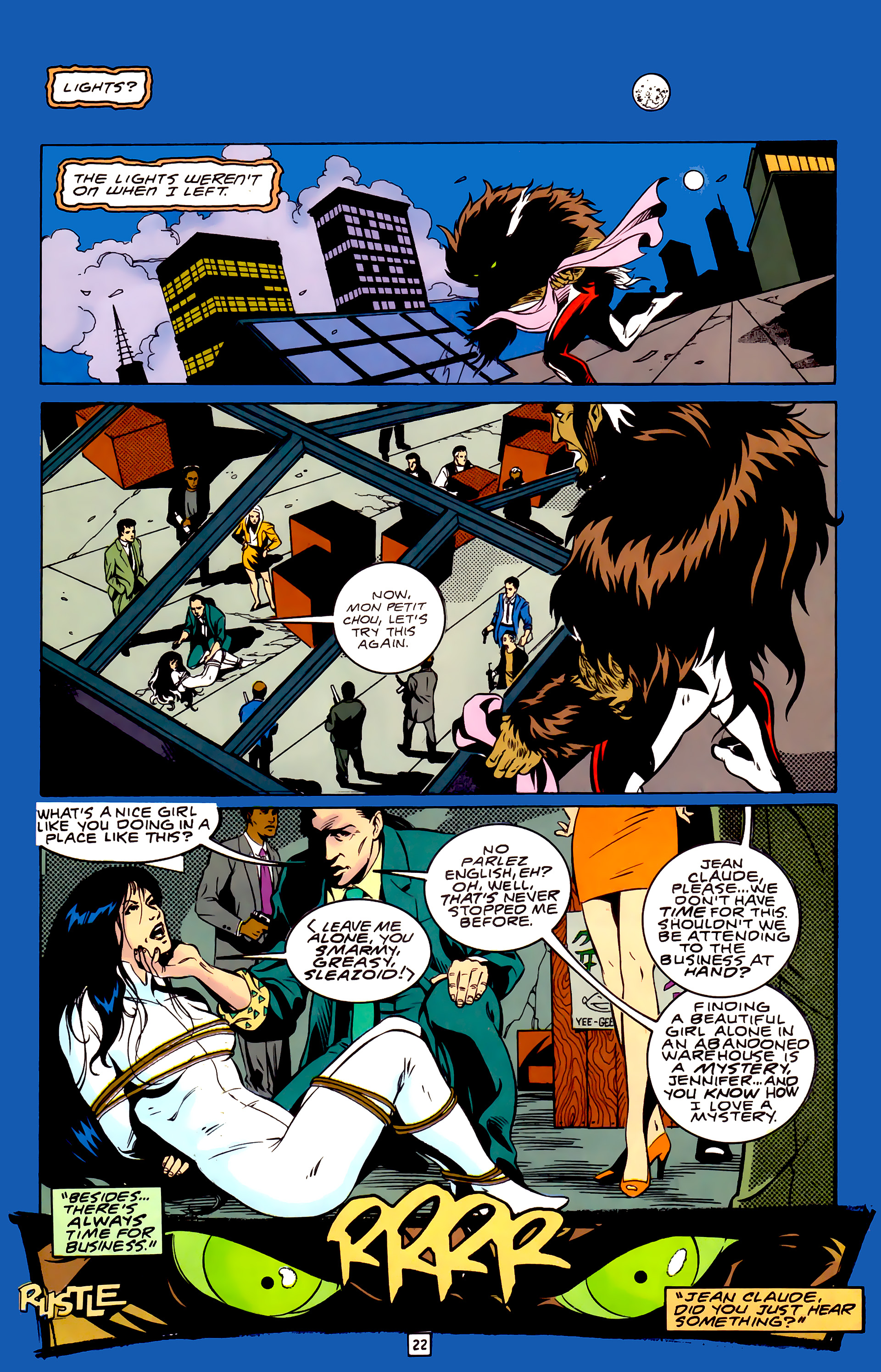 Legion of Super-Heroes (1989) _Annual_3 Page 22