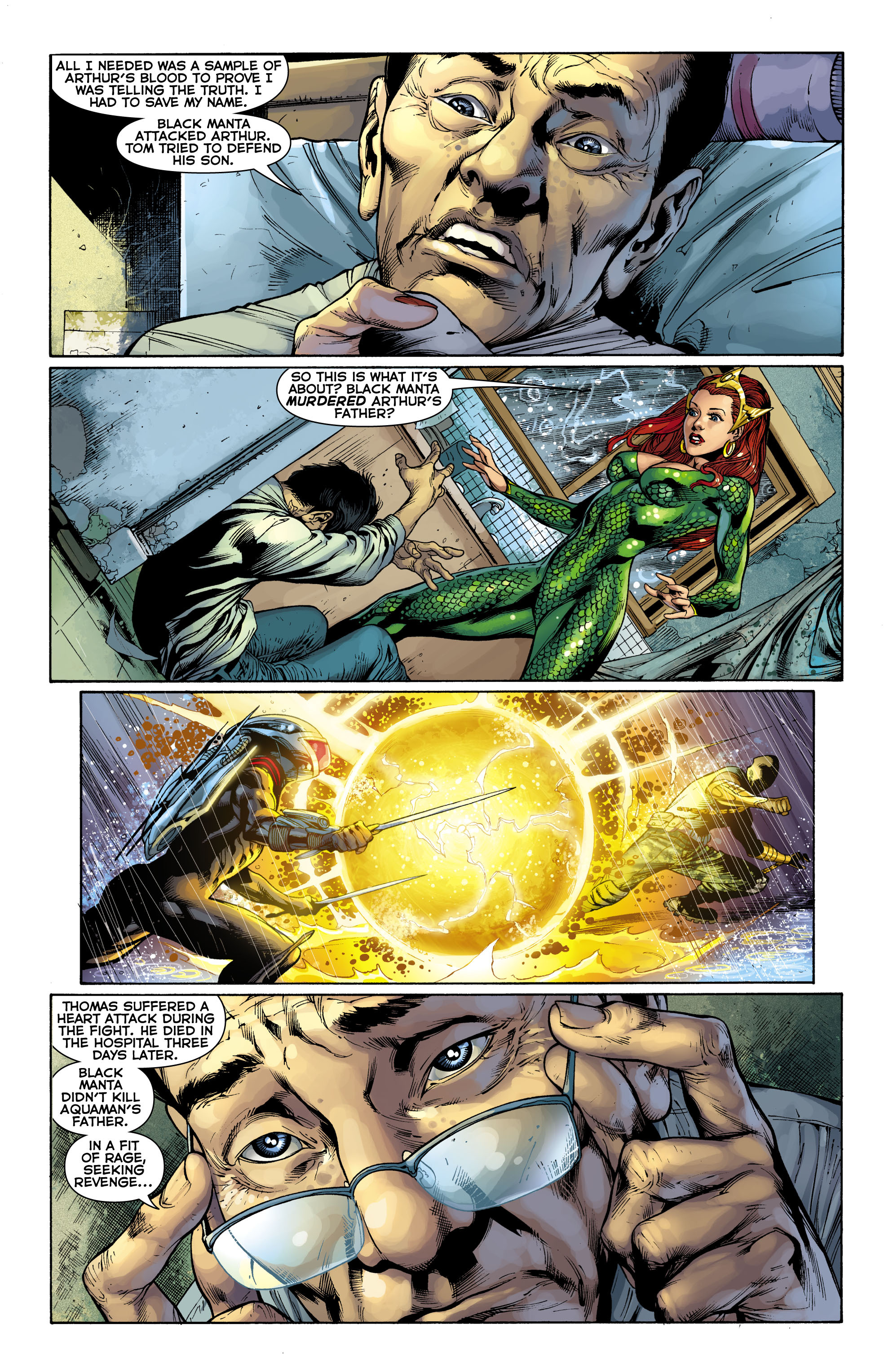 Read online Aquaman (2011) comic -  Issue #9 - 20