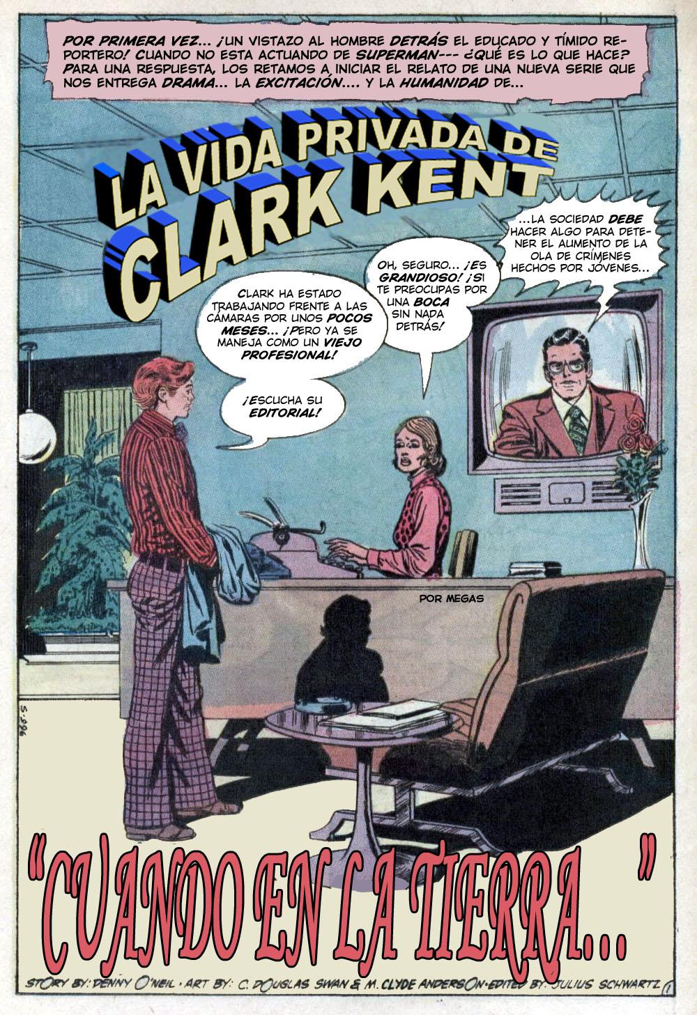 COMIC BOOK FAN AND LOVER: SUPERMAN # 247 (PRE-CRISIS) - DC COMICS