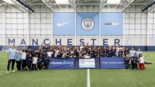 MANCHESTER CITY AND ETIHAD AIRWAYS TEAM UP TO EMPOWER YOUNG COMMUNITY FOOTBALL LEADERS IN KOLKATA