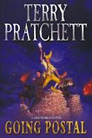 Going Postal - Terry Pratchett, book