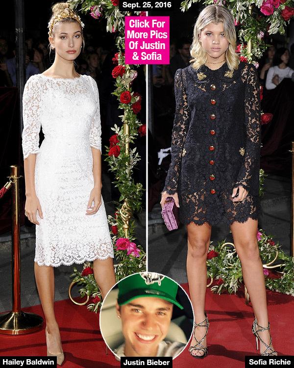 Hailey Baldwin & Sofia Richie: Justin Bieber's Exes Attend Same Event — Awkward Run-In?