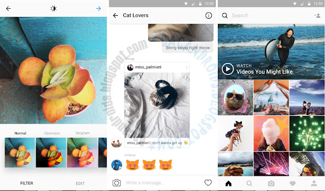 download Update Instagram Apk Versi Terbaru bisa Upload Video 1 Menit