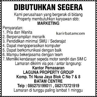 Lowongan Kerja PT. Laguna Property Group
