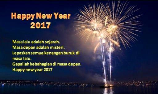 ucapan selamat tahun baru 2017