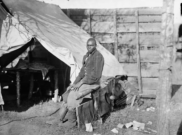 John Henry, a servant, at the headquarters of the 3rd Army Corps, Army of the Potomac in October of 1863.