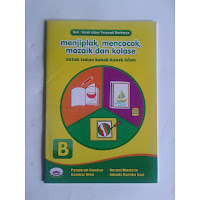 Buku Menjiplak, Mencocok Mozaik dan Kolase Seri A-B Marwah Media