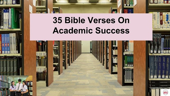 Bible Verses On Academic Success