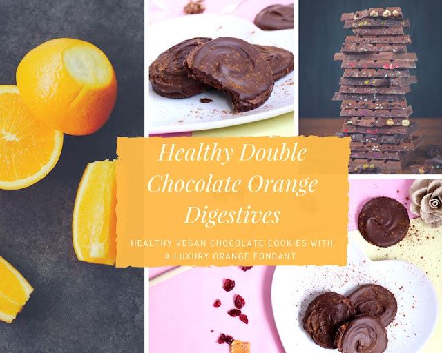 Double Chocolate Orange Digestives (VG, GF)