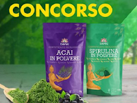Logo Partecipa gratis e vinci i migliori Superfood ricchi di antiossidanti Iswari Super Alimenti