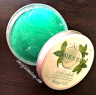 Review: Scrub Sorbetto alla Menta - Bottega Verde