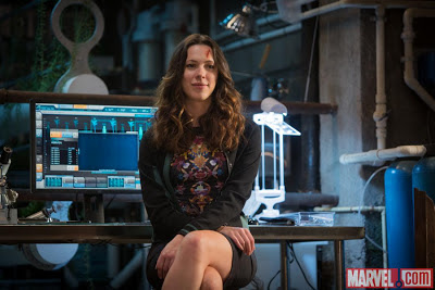 Rebecca Hall as Maya Hansen in Iron Man 3