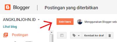 cara membuat label postingan artikel di blogger yang mudah