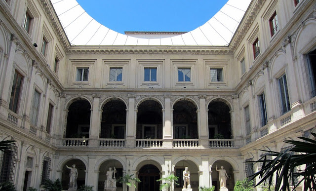 Pallazo Altemps no Museu Nacional Romano em Roma