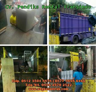 Truck Balen dari Bali Denpasar