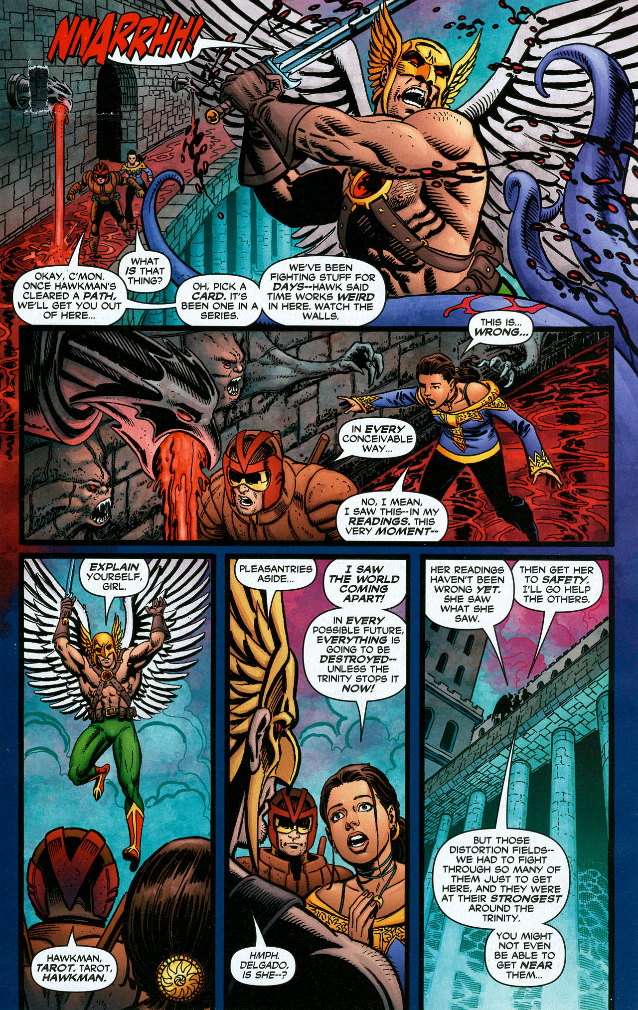 Read online Trinity (2008) comic -  Issue #16 - 24