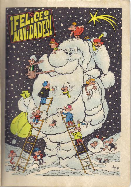 Portadilla del Almanaque de 1968 de el DDT