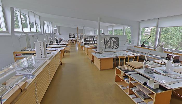 Casa-estudio de Alvar Aalto - 360°