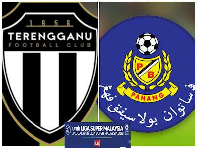 Live Streaming Terengganu vs Pahang Liga Super 1 Mei 2018
