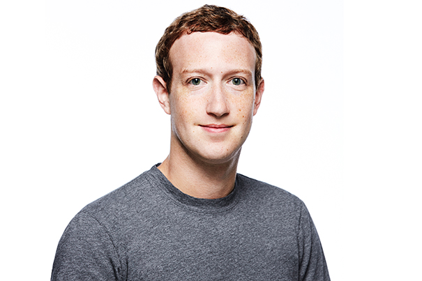 CEO of Facebook, Mark Zuckerberg