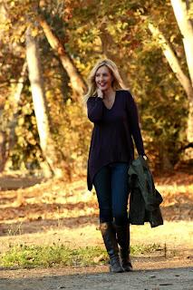 Fall Leaves & Handkerchief Hem Tunics