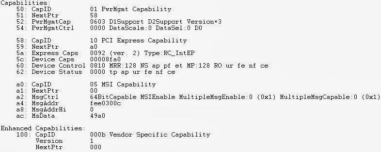 BSODTutorials: Understanding PCI Configuration Space