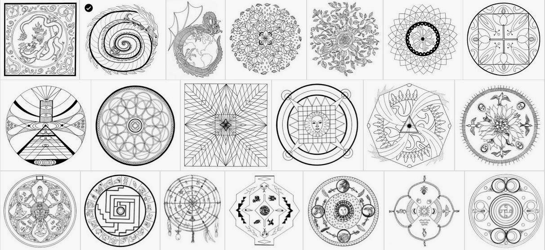 Creación de mandalas en la clase de matemáticas