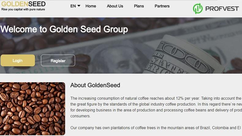 GoldenSeed обзор и отзывы HYIP-проекта
